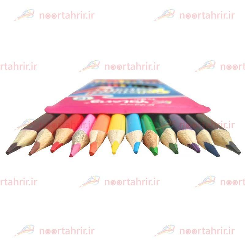 مداد رنگی 12 رنگ یالونگ