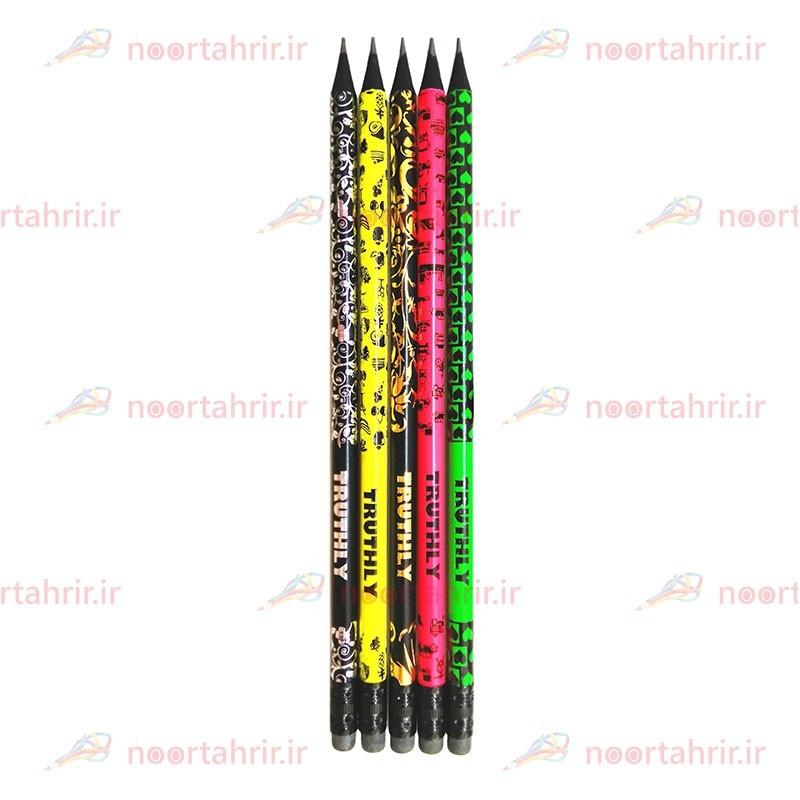 مداد مشکی ذغالی توروسلی