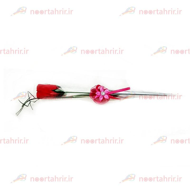 گل رز مصنوعی نگین دار