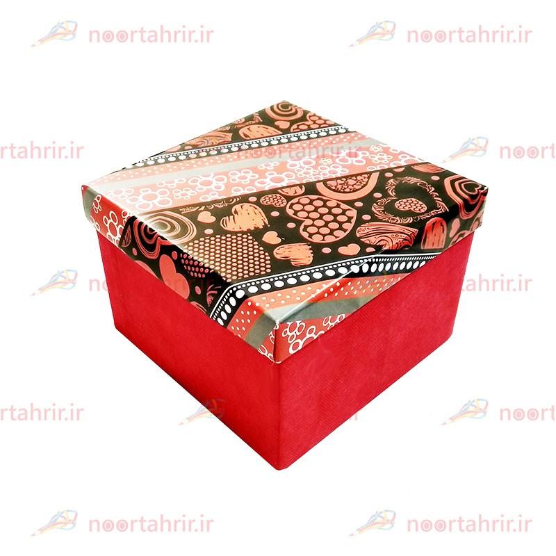 جعبه کادو مربعی بزرگ