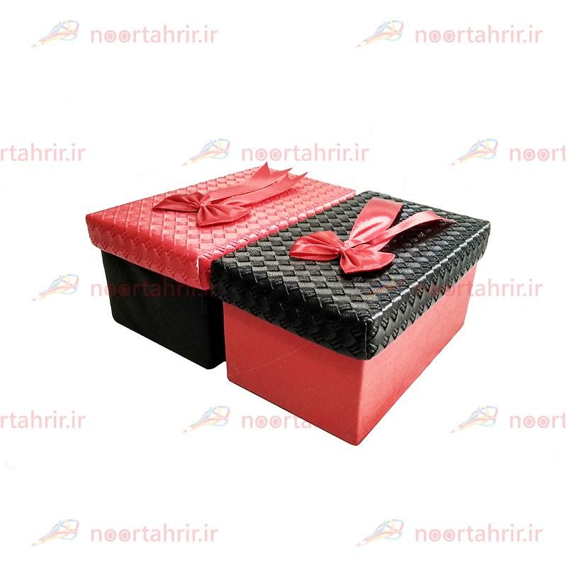جعبه کادو مستطیلی چرمی