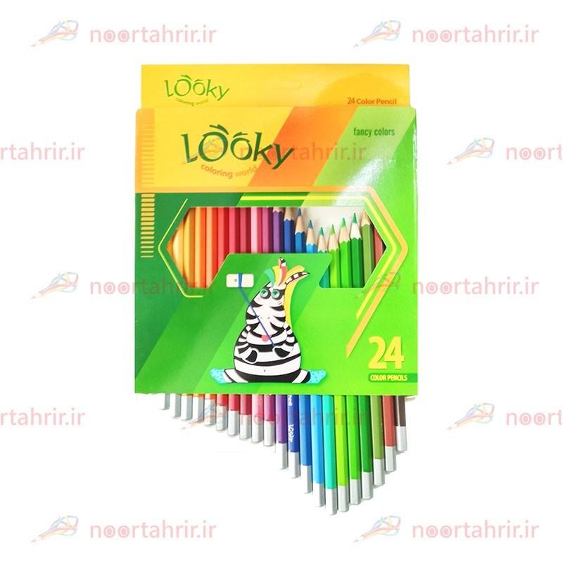 مداد رنگی 24 رنگ لوکی