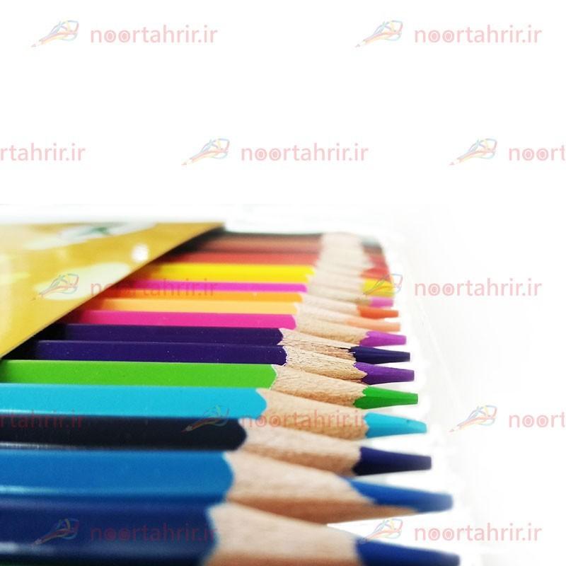مداد رنگی 24 رنگ هیپو